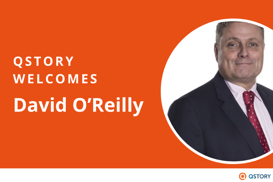 Press Release: QStory appoints David O'Reilly to board as Non-Executive Director